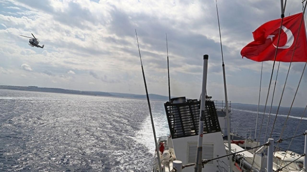 Yunanistan'ın Ege'deki ihlaline Navtex'li yanıt