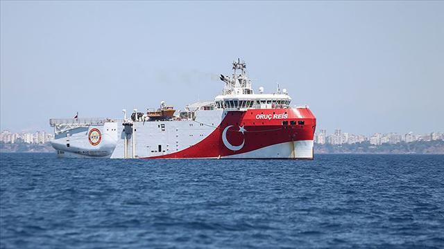 Oruç Reis için Doğu Akdenizde yeni Navtex