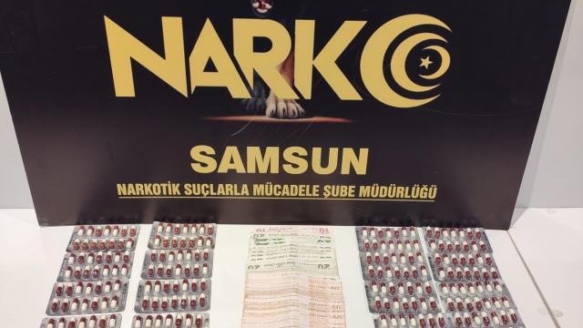 Samsunda uyuşturucu operasyonunda 3 şüpheli yakalandı