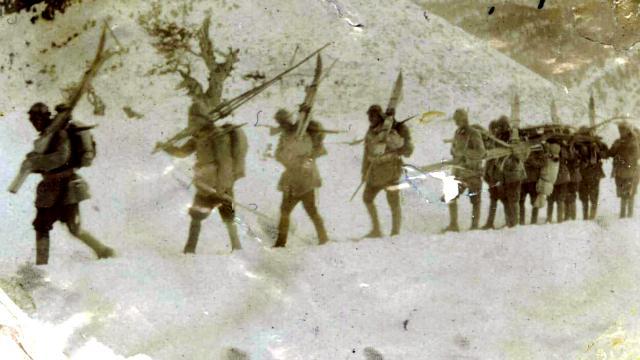 Sarıkamış Harekatına katılan askerlerin tarihi fotoğrafları