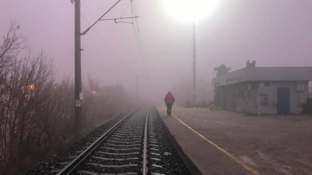 Edirnede sis nedeniyle görüş mesafesi 15 metreye kadar düştü