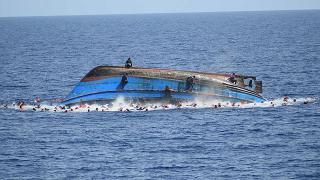Gökçeada'da tekne alabora oldu