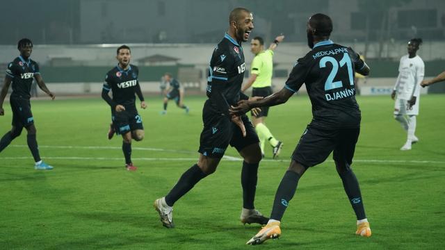 Vitor Hugo attı Trabzonspor kazandı