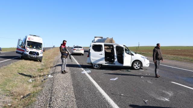 Diyarbakırda trafik kazası: 4 yaralı