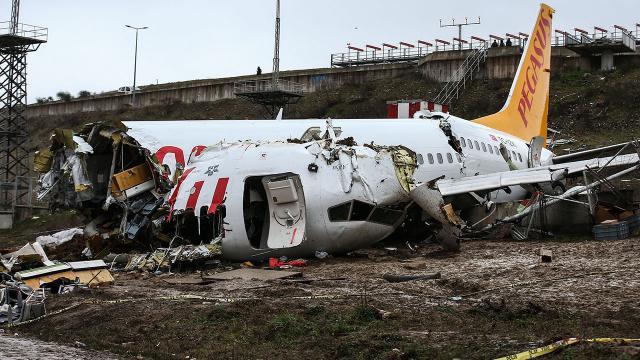 Uçak kazası soruşturmasında kaptan pilot kusurlu bulundu