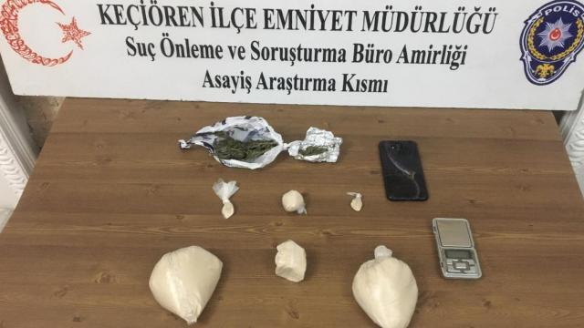 Başkentte uyuşturucu operasyonlarında 7 şüpheli gözaltına alındı