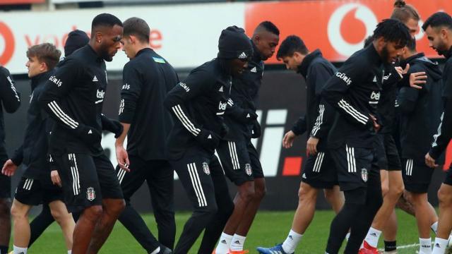 Beşiktaşın kamp kadrosu belli oldu