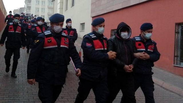 Kayseride DEAŞ operasyonunda 7 gözaltı