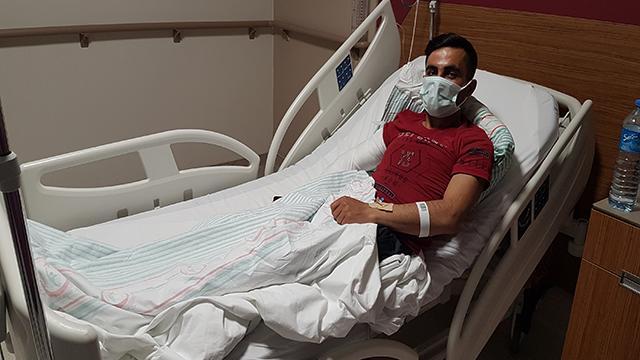Depremde pencereden atlayan genç: Gözümü açtığımda hastanedeydim