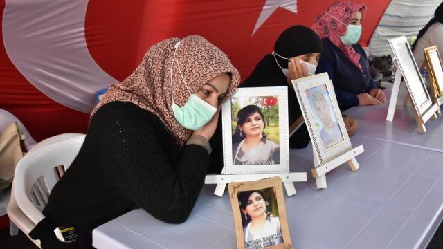 Diyarbakır anneleri eylemlerini sürdürmekte kararlı