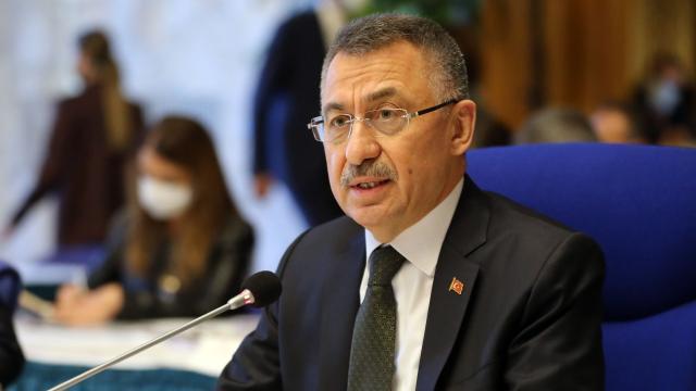 Fuat Oktay: Türkiye, Kıbrıs Türkünün yanında olacak