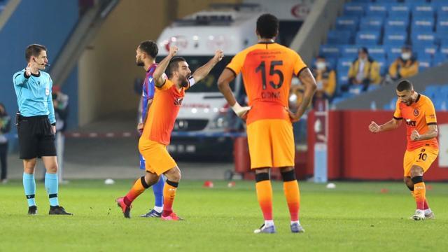 Galatasaray Trabzonda kazandı