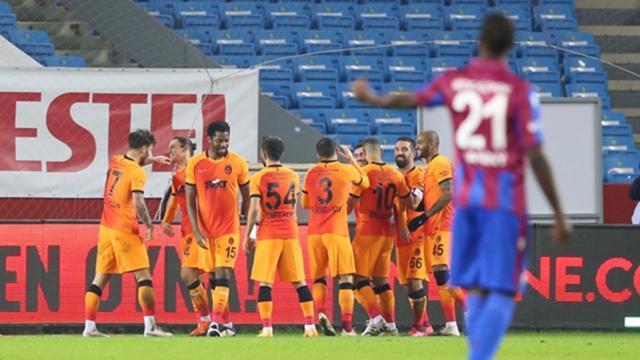 Galatasaray Trabzondan lider dönüyor