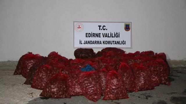 Edirnede 1 ton kaçak midyeye 101 bin lira ceza