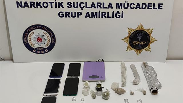 Şırnakta kaçakçılara geçit verilmiyor: 42 gözaltı