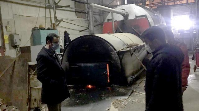 Düzcede kalitesiz kömür kullanan 3 işletmeye ceza