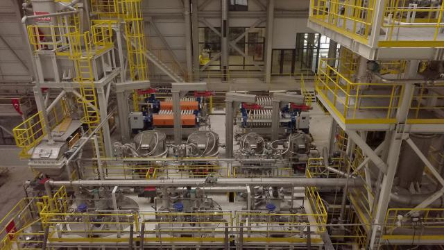 Türkiyenin ilk lityum üretim tesisi yarın törenle açılacak