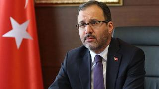 Bakan Kasapoğlu'ndan Kazım Kazım'a destek
