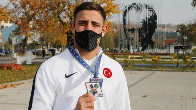 Milli judocu Muhammed Mustafa Koçun hedefi şampiyonluklar