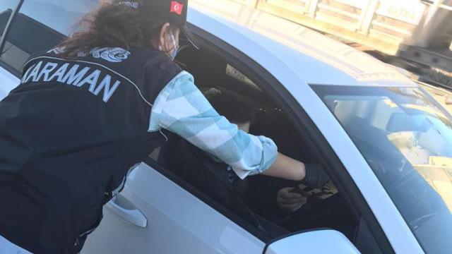 """Karamanda """"En İyi Narkotik Polisi Anne"""" projesi tanıtıldı"""