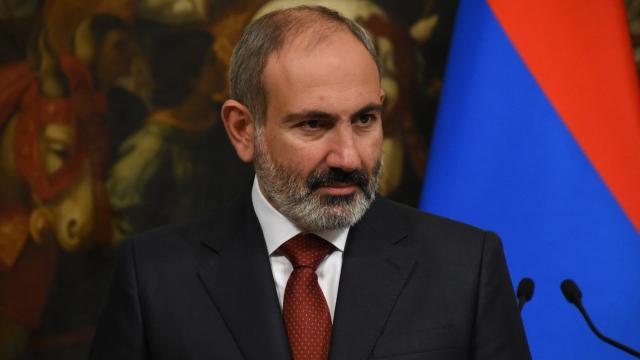 Ermenistan Başbakanı Paşinyan Moskovada