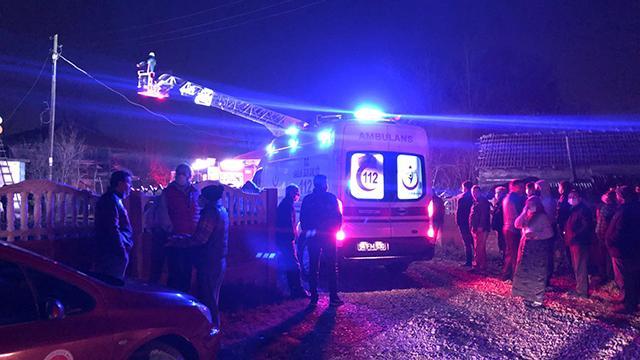 Sakaryada ev yangını: 2 ölü, 1 yaralı
