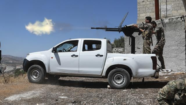 Tel Abyadda teröristlerin sızma girişimi engellendi