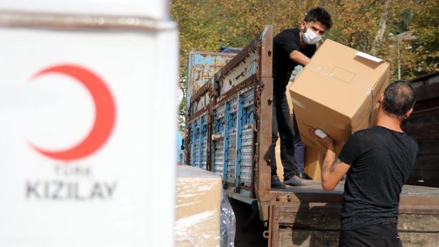 Türk Kızılaydan bu yıl 834 milyonluk insani yardım