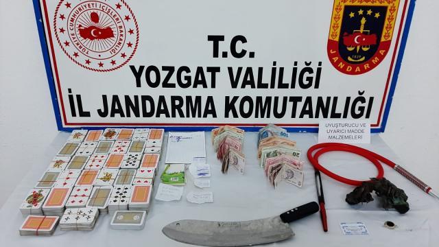 Yozgatta kumar oynayan 6 kişiye 26 bin 250 lira ceza