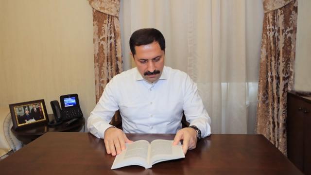 Amasya Valiliğince kitap okuma kampanyası başlatıldı