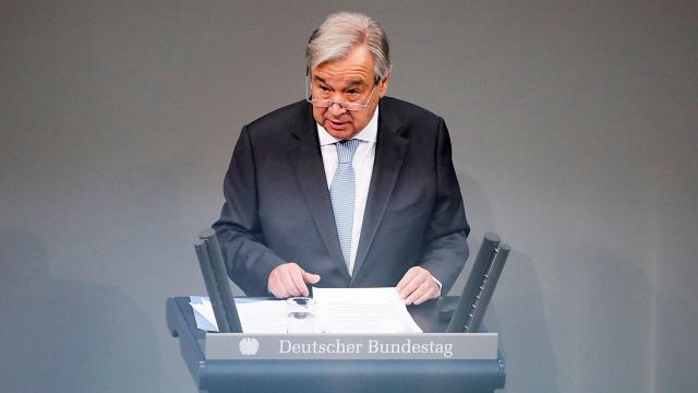 BM Genel Sekreteri Guterres: 2021i şifa yılı yapalım