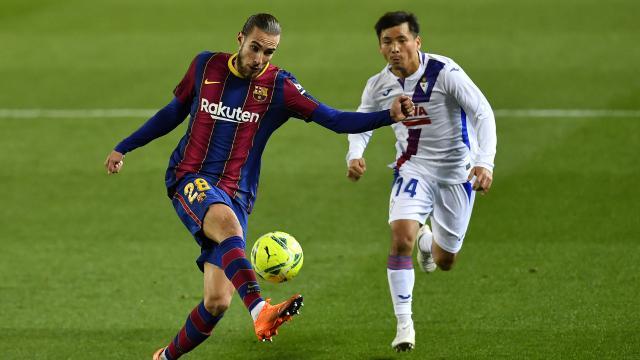 Messisiz Barcelona Eibarla berabere kaldı