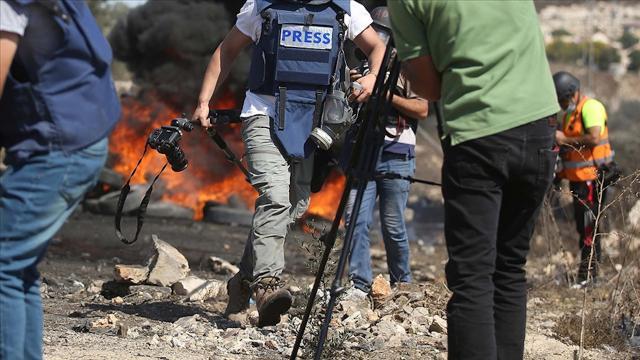 İsrail güçleri Batı Şeriada AA foto muhabirini yaraladı