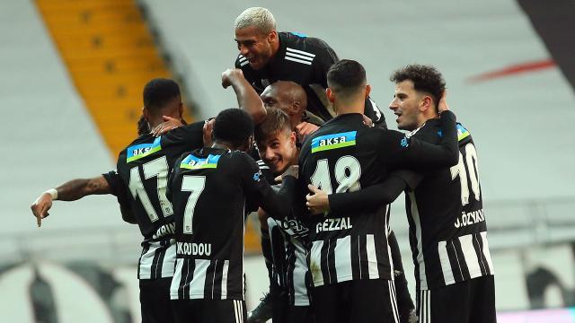 Beşiktaş kötü başladığı 2020 yılını mutlu bitirdi