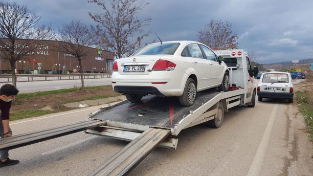 Bilecikte hırsızlık olayına karıştığı iddia edilen şüpheli İnegölde yakalandı