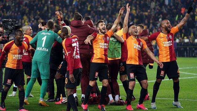 Galatasaray 2020 yılını ligde lider tamamladı