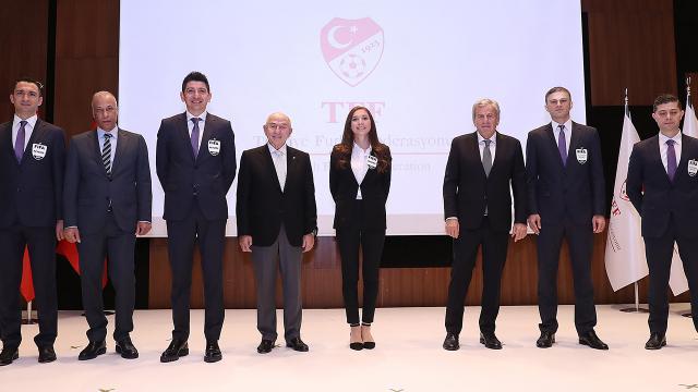 TFF hakemler için FIFA kokartı töreni düzenledi