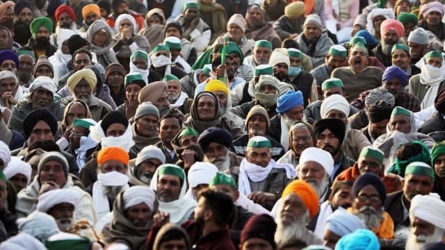 Yeni Delhide çiftçi protestoları bir ayını doldurdu