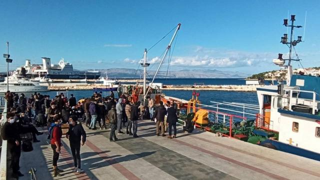 İzmirde 187 düzensiz göçmen yakalandı