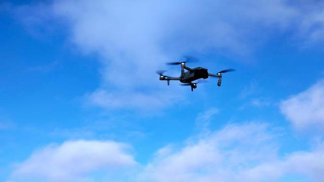 Kaçak avlananlar drone ile yakalandı