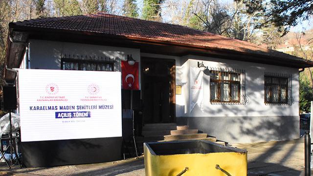 """Zonguldakta """"Karaelmas Maden Şehitleri Müzesi"""" açıldı"""