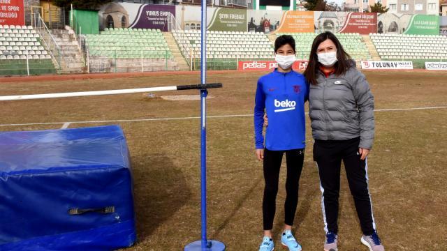 Son iki yılın yüksek atlama Türkiye şampiyonu Muhammed Enes, Fenerbahçe yolcusu