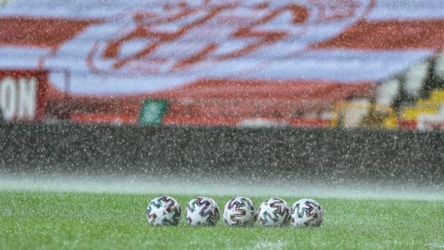 Antalyaspor- Hatayspor maçına sağanak engeli
