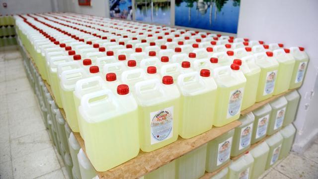Malatyada meslek lisesi öğrencileri 237 ton hijyen malzemesi üretti