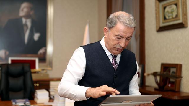 """Milli Savunma Bakanı Akar, AAnın """"Yılın Fotoğrafları"""" oylamasına katıldı"""