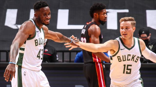 NBAde Milwaukee Buckstan Miami Heate 47 sayı fark