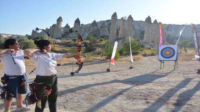 """Nevşehir """"2021 Avrupa Spor Kenti"""" ilan edildi"""