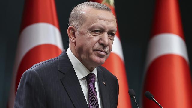 """Cumhurbaşkanı Erdoğandan """"Rauf Denktaş"""" mesajı"""