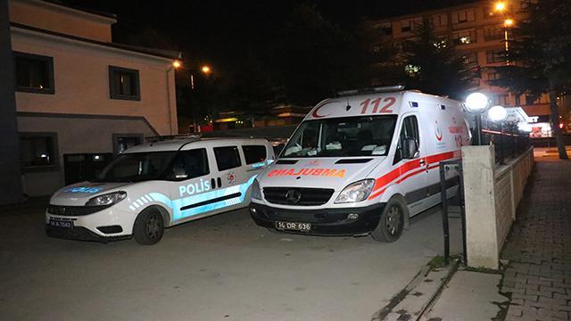 Boluda 112 Acil Sağlık ekibine silahlı saldırı