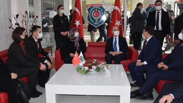 İçişleri Bakanı Süleyman Soylu, Afyonkarahisarda